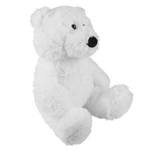Polarbär, Kuscheltier, sitzend 30 cm, weiß