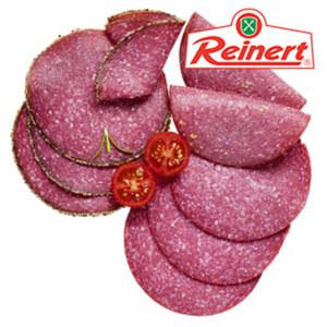 Reinert Salamiaufschnitt 4-fach sortiert, da schmeckt man Tradition, je 100 g
