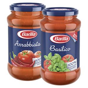 Barilla Pastasauce Klassik versch. Sorten, jedes 400-g-Glas