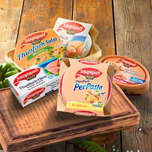 Saupiquet Produkte im Wert von mind. 10 € kaufen, 3 € Sofort-Rabatt jede 160-g-Dose