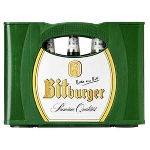 Bitburger Pils, Alkoholfrei oder Premium Kellerbier 20 x 0,5 Liter