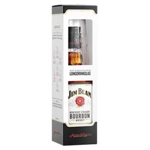 Jim Beam Bourbon Whiskey 40 % Vol.,  jede 0,7-l-Flasche