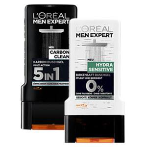 L'Oréal Men Expert Duschgel versch. Sorten, jede 300-ml-Flasche