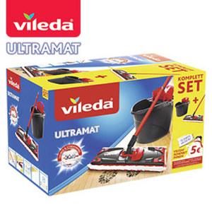 """""""UltraMat 2-in-1"""" - bestehend aus """"UltraMat""""-Wischer und Eimer mit PowerPresse"""