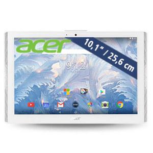 Multimedia-Tablet-PC Icona One (B3-A40) · Quad-Core-Prozessor (bis zu 1,3 GHz) · 2 Kameras (2 MP/5 MP)   · Android™ 7.0 · Schwarz oder Weiss