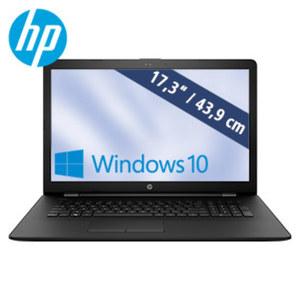 HP Notebook 17-bs547ng · HD+ Display · Intel® Celeron® N3060 (bis zu 2,48 GHz) · Intel® HD-Grafikkarte 400 · USB 2.0, USB 3.1 · DVD-Brenner, Webcam