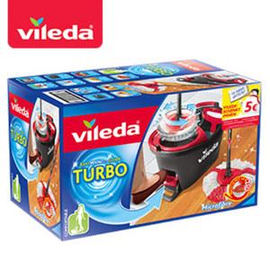 """""""Turbo EasyWring & Clean"""" - bestehend aus """"Easy- Wring & Clean""""-Wischmop und Rotationseimer mit PowerSchleuder"""