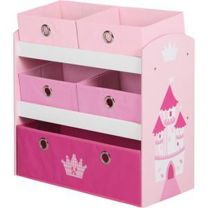 roba Spielregal Krone, rosa