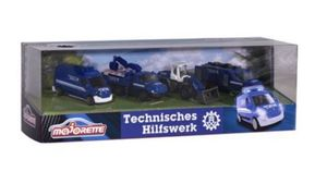 Majorette - THW 4 Pieces Giftpack