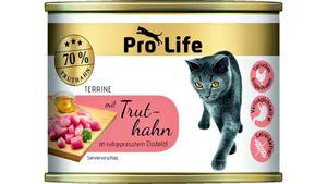 Pro Life Katze Katzennassfutter- Terrine mit Truthahn