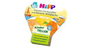 HiPP Kinder-Bio-Teller - Karotten mit Kartoffeln und feinem Wildlachs