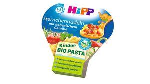 HiPP Kinder-Bio-Pasta - Sternchennudeln mit italienischem Gemüse