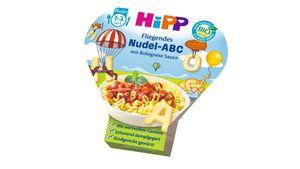 HiPP Kinder-Nudel-Spaß - Fliegendes Nudel-ABC in Bolognese-Sauce