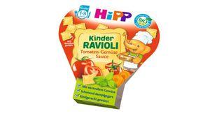 HiPP Kinder-Bio-Ravioli - Ravioli mit Tomaten-Gemüse-Sauce