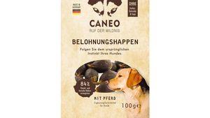 CANEO Hunde-Belohnungshappen mit Pferd