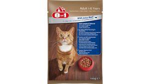 8in1 Katzennassfutter mit Rind in Sauce