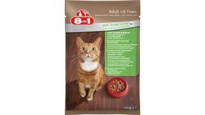 8in1 Erwachsene Katzennassfutter mit zartem Lamm