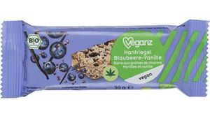 BIO Veganz Hanfriegel Blaubeere-Vanille