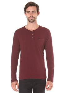 O´Neill Jack´s Base Henley - Langarmshirt für Herren - Rot