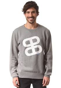 Planet Sports Icon Logo Crew - Sweatshirt für Herren - Grau