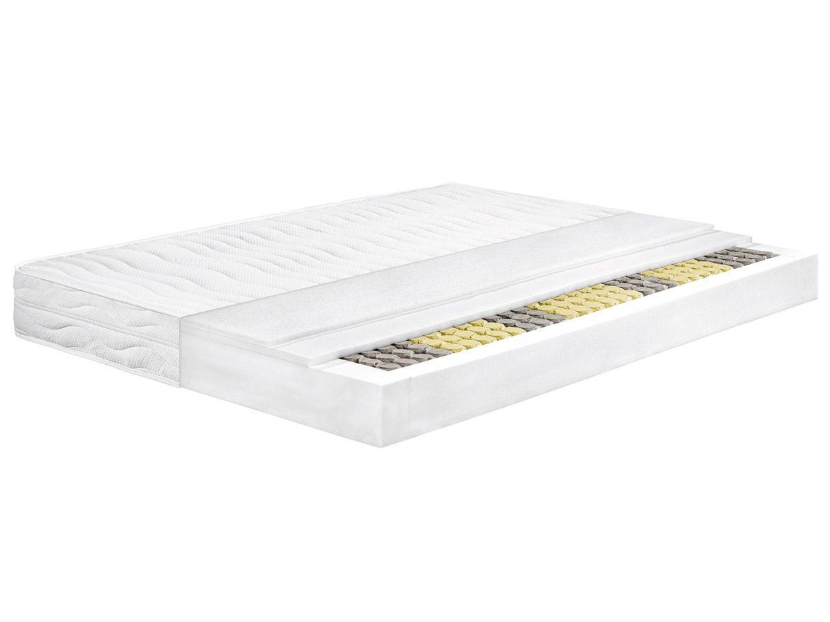 Bild 1 von MERADISO® 7-Zonen Tonnentaschen-Federkernmatratze, 140 x 200 cm , H3