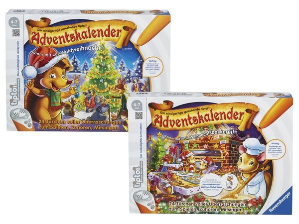 Weihnachtskalender Tiptoi.Ravensburger Tiptoi Adventskalender