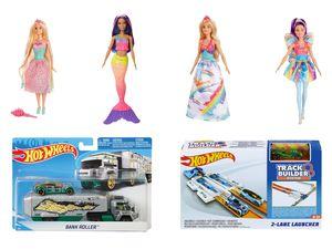 MATTEL Barbie / Truck / Trackset