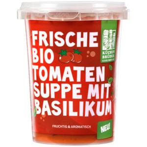 Küchenbrüder Frische Tomatensuppe mit Basilikum 450ml