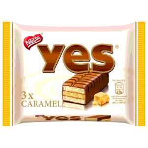 Nestle Yes Caramel 3x32g