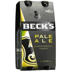 Beck's Pale Ale 4x0,33l