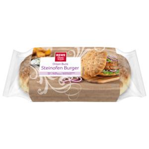 REWE Beste Wahl Onion Buns Steinofen Burger 180g