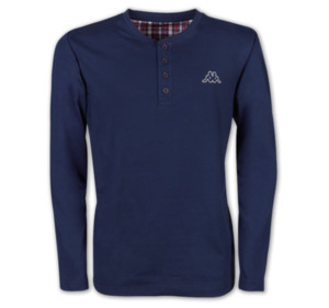 KAPPA Herren Henley-Shirt