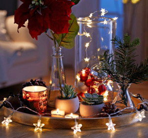 HOME IDEAS SEASONS 10er-LED-Mini-Lichterkette* oder 20er-LED-Mini-Lichterkette