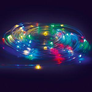 EASYmaxx LED-Lichtschlauch 5m mit 50 LED & Farbwechsel