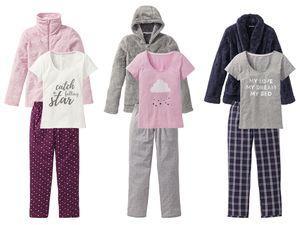 ESMARA® Lingerie Damen Pyjamaset, 3-teilig