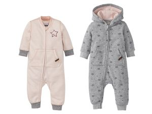 LUPILU® Baby Mädchen Sweat-Overall
