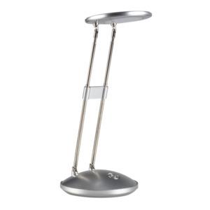 """FLECTOR                 LED-Schreibtischleuchte """"Stretch"""", silber"""