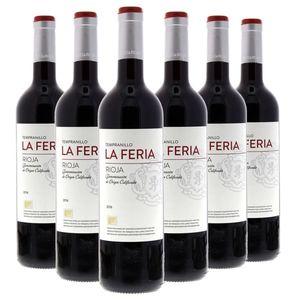 La Feria Rioja Tinto DOCa, 6 x 0,75 Liter