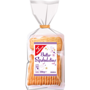 Gut & Günstig Butter Spekulatius