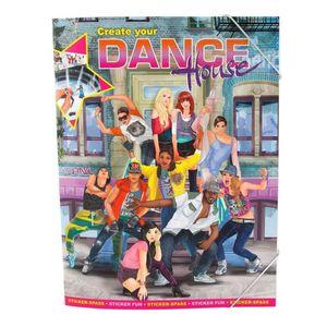 Create your Dance House - Sticker Spaß Buch - Despesche