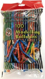 Modellierballons - 100-teiliges Set