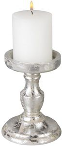 Kerzenhalter - aus Holz - 11 x 11 x 20 cm