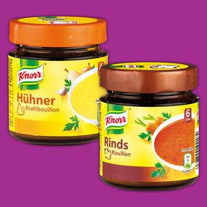 Knorr Brühe / Bouillon