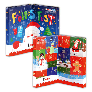 kinder Mix Tisch-Adventskalender