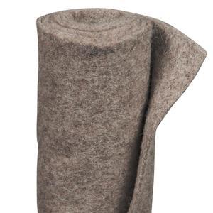 VIDEX                 Winterschutz-Schafwollmatte, 50x150 cm, stein