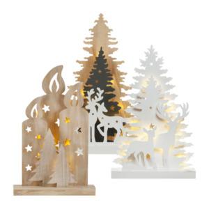 LIGHTZONE     LED-Holzsilhouette