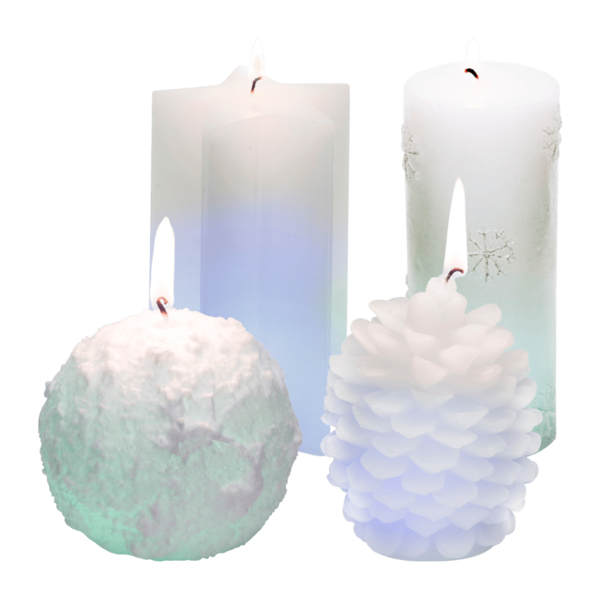Bild 1 von LIVING ART     LED Farbwechsel Kerze