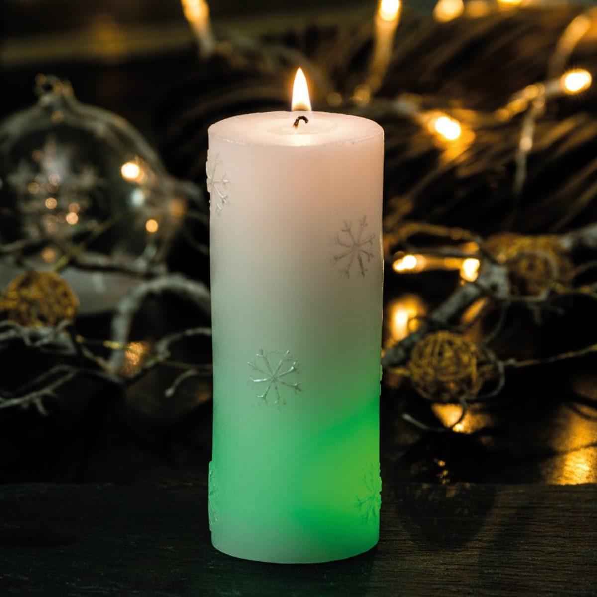 Bild 3 von LIVING ART     LED Farbwechsel Kerze