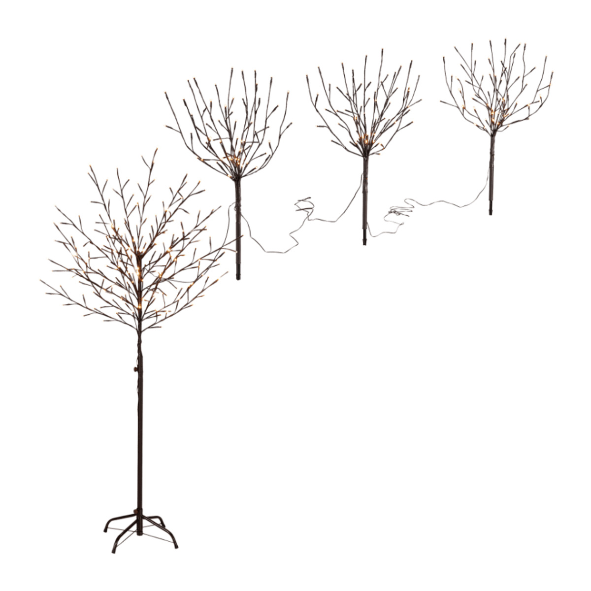 Bild 1 von LIGHTZONE     LED Lichtbaum / 3 LED Sträucher