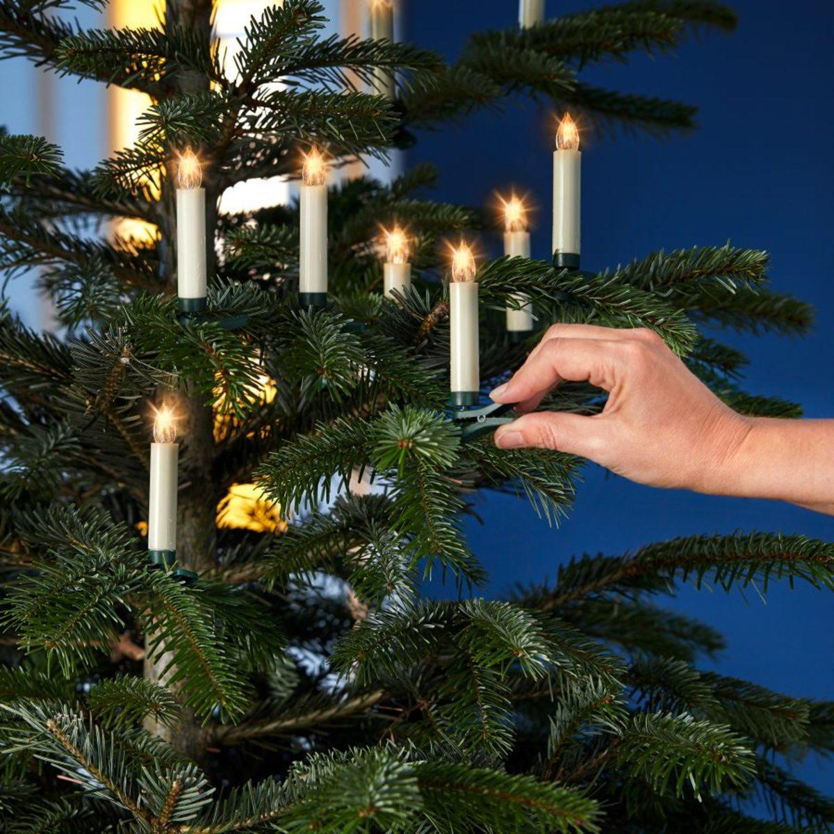 Bild 2 von LIGHTZONE     Kabellose Christbaumkerzen